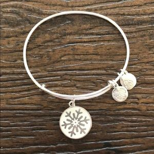 Alex and ani snowflake bracelet